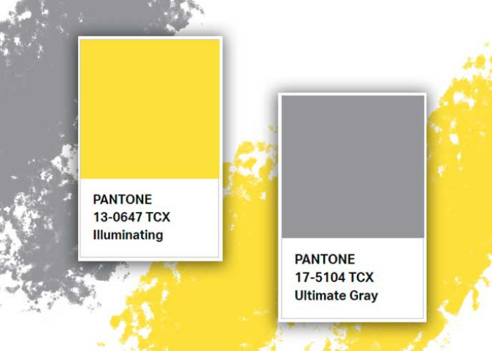 Ultimate Grey e Illuminating Yellow